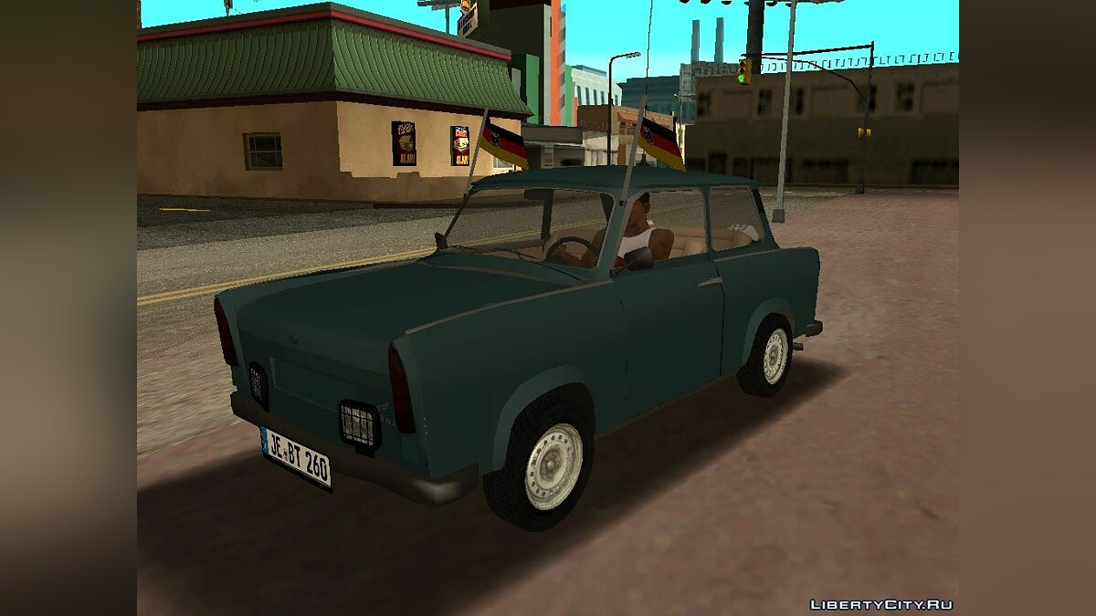 Машина Trabant Trabant 601 Double Rear для GTA San Andreas