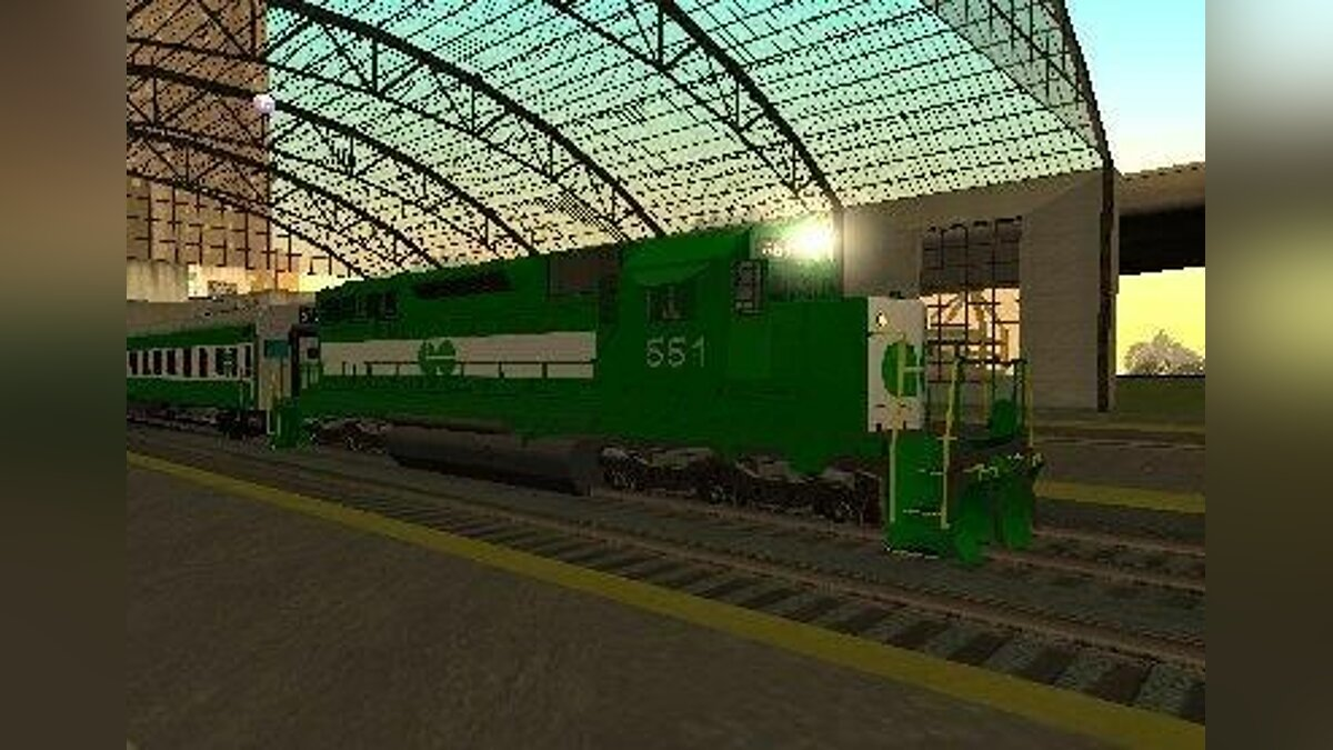 THE GO Transit Train для GTA San Andreas