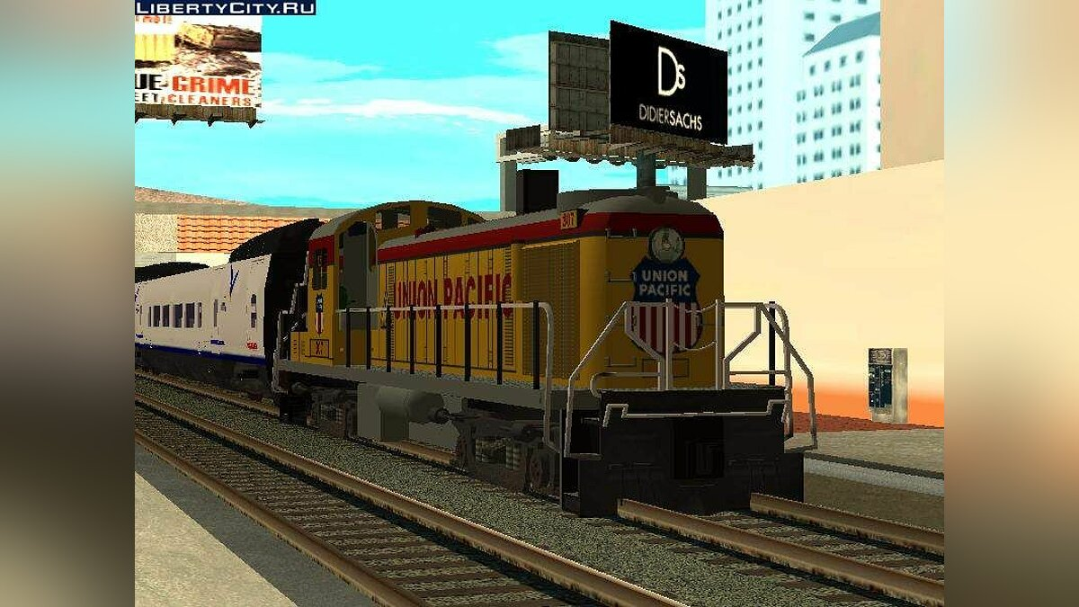 RS3 Union Pacific для GTA San Andreas