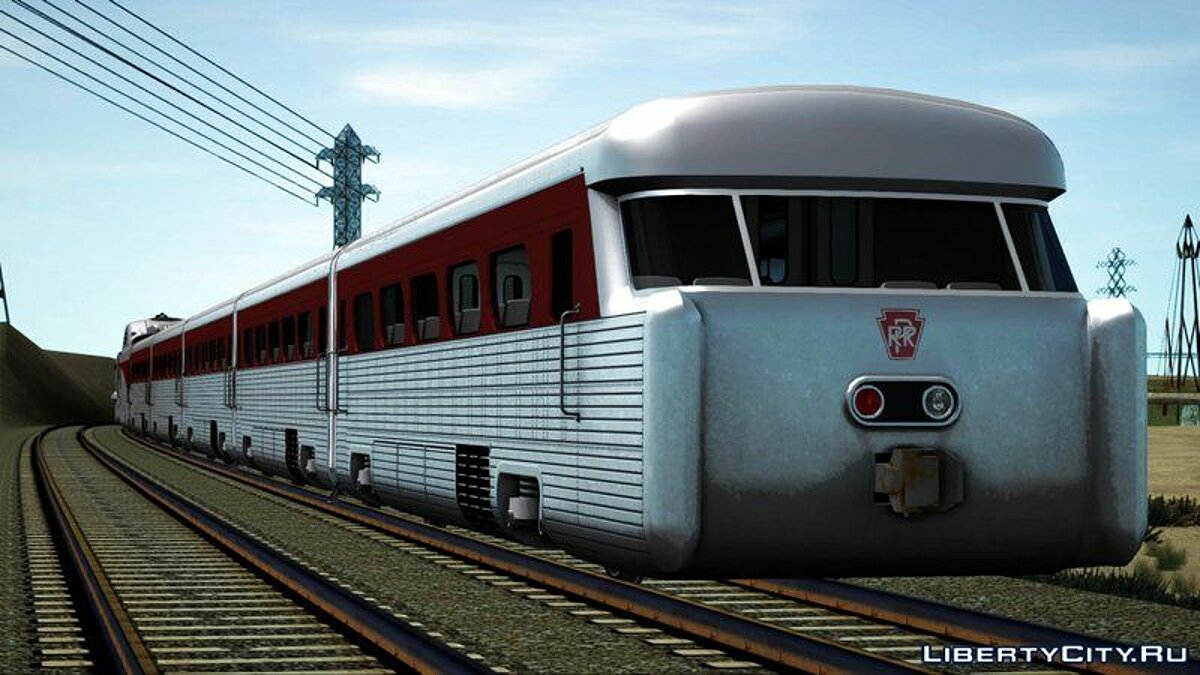 General Motors Aerotrain 1956 для GTA San Andreas - скриншот #5