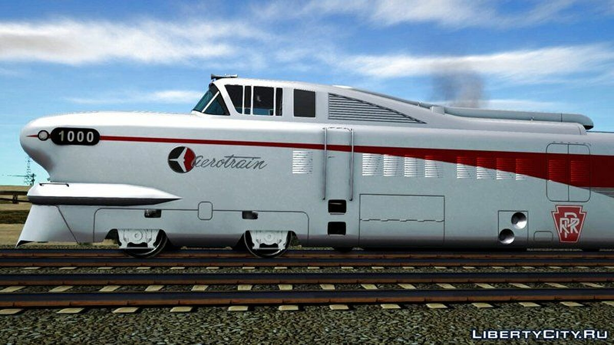 General Motors Aerotrain 1956 для GTA San Andreas - скриншот #7