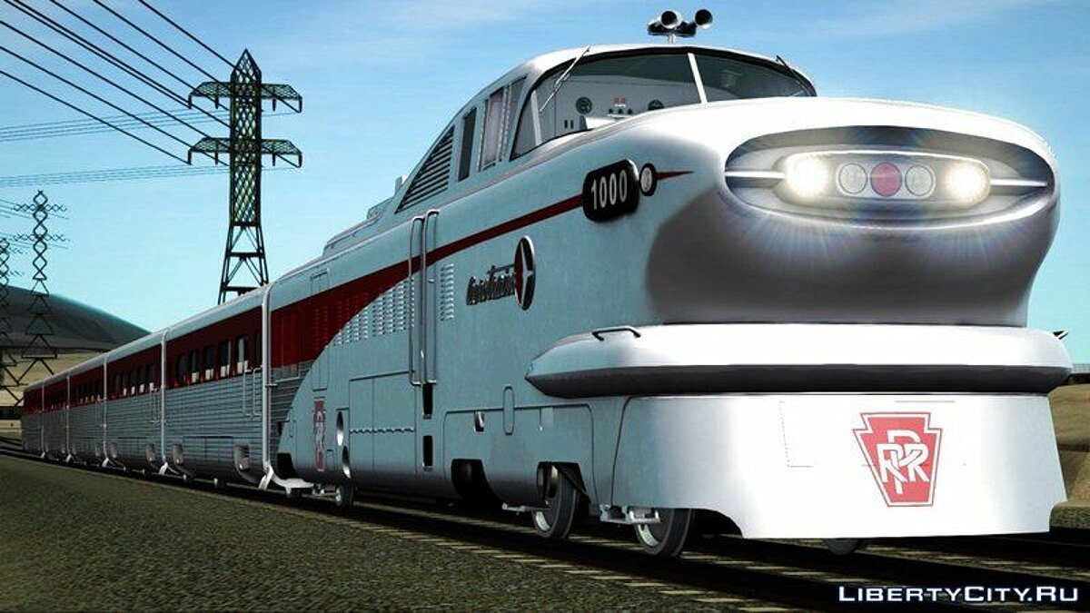 General Motors Aerotrain 1956 для GTA San Andreas - скриншот #4