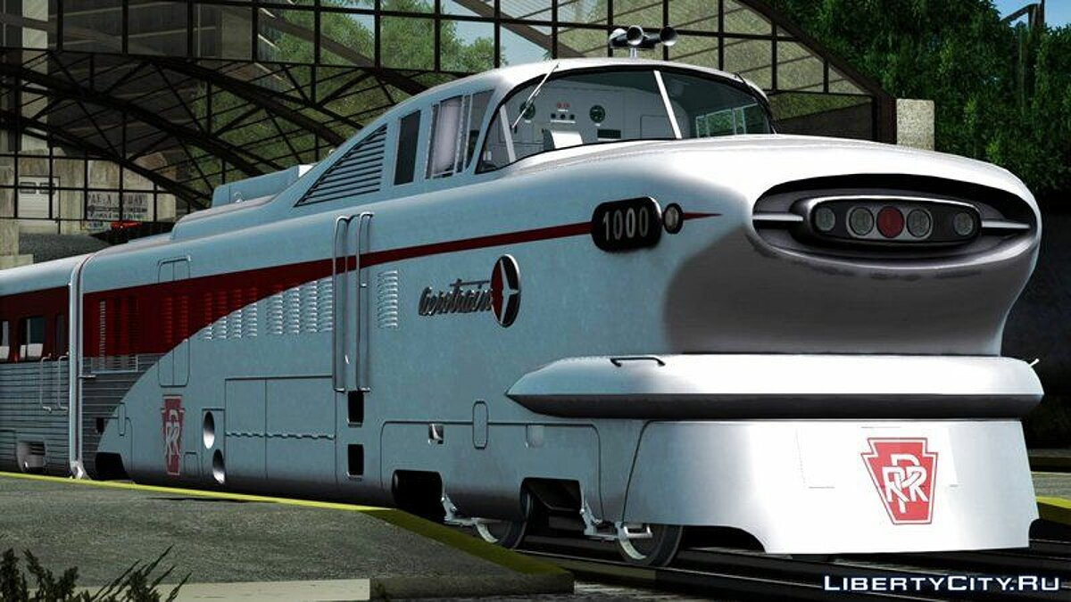 General Motors Aerotrain 1956 для GTA San Andreas - скриншот #6