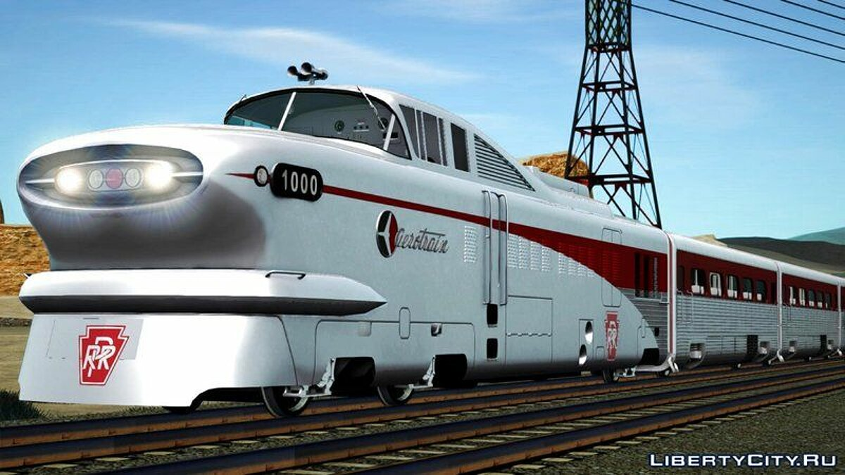 General Motors Aerotrain 1956 для GTA San Andreas