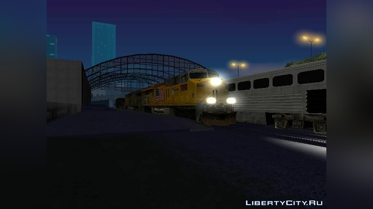 GE ES44AC Freight Union Pacific V3.0 для GTA San Andreas