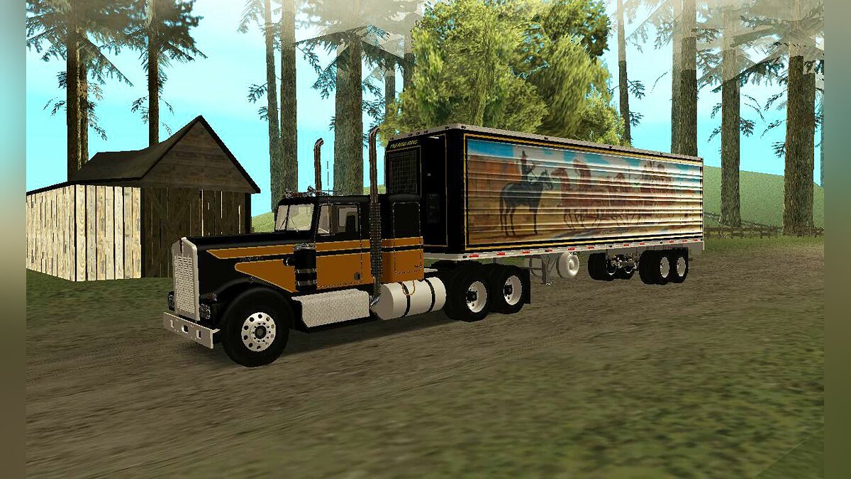 Smokey and the bandit Kenworth для GTA San Andreas