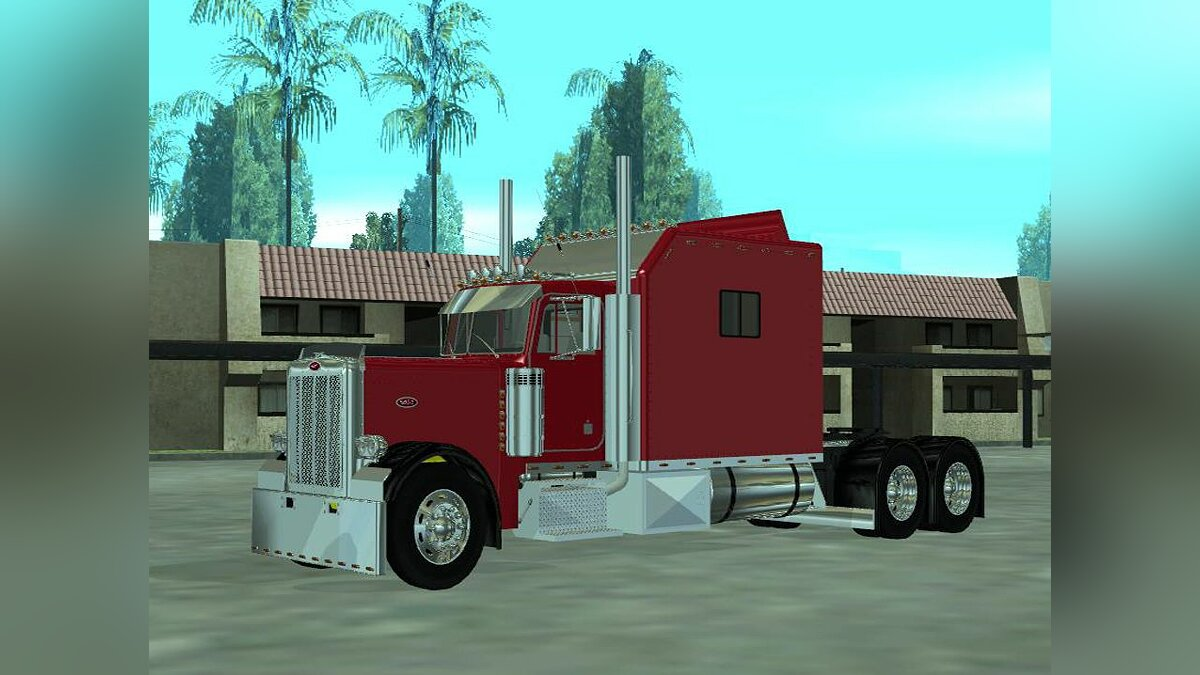 Peterbilt 379 With Legacy Sleeper для GTA San Andreas