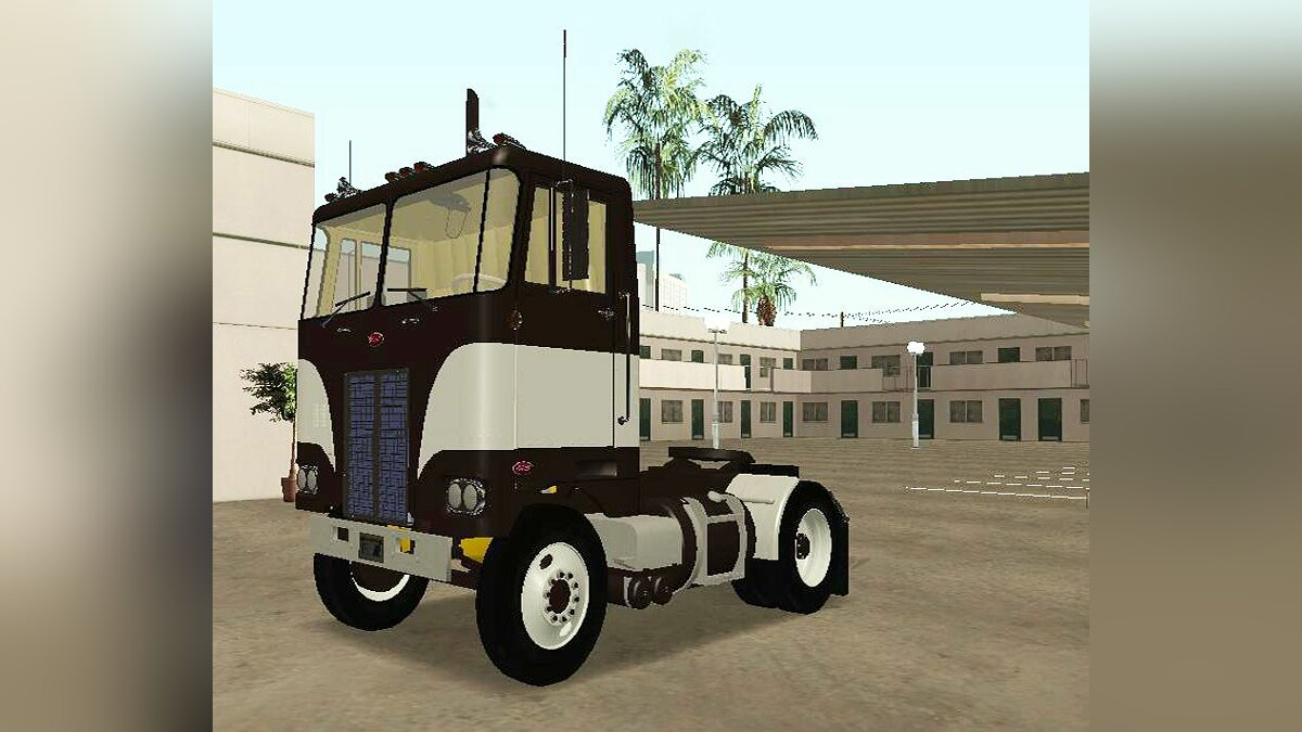 1978 Peterbilt Single Axel Daycab для GTA San Andreas