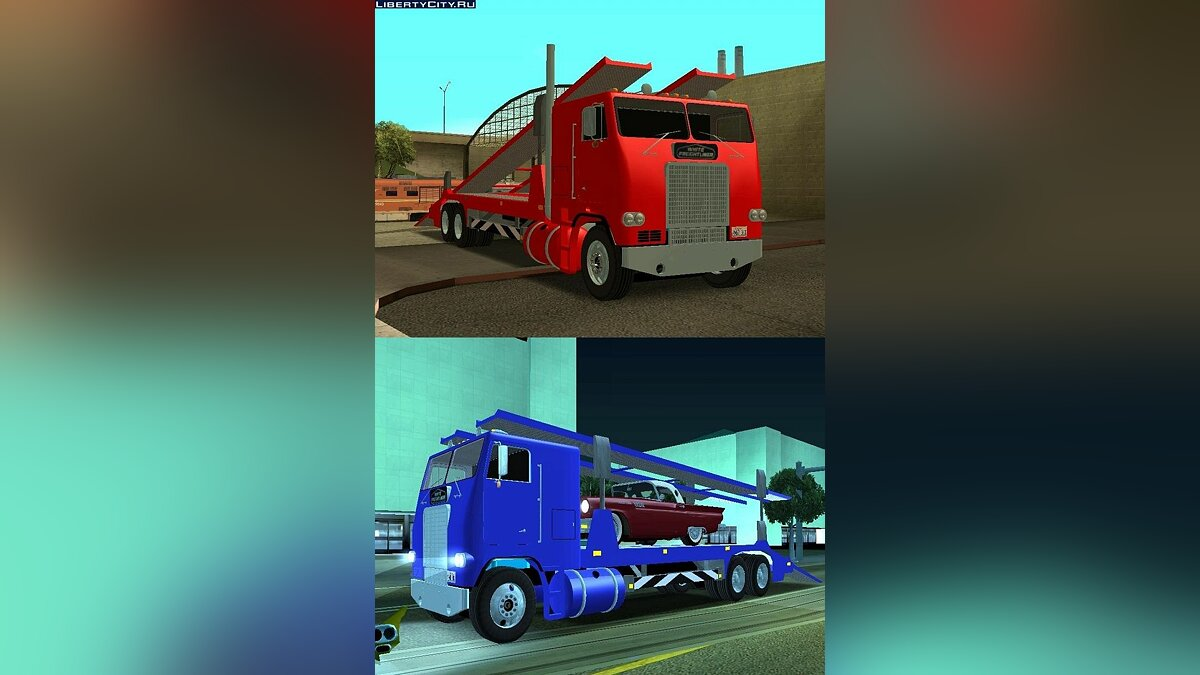 Peterbilt Packer Version 2 для GTA San Andreas