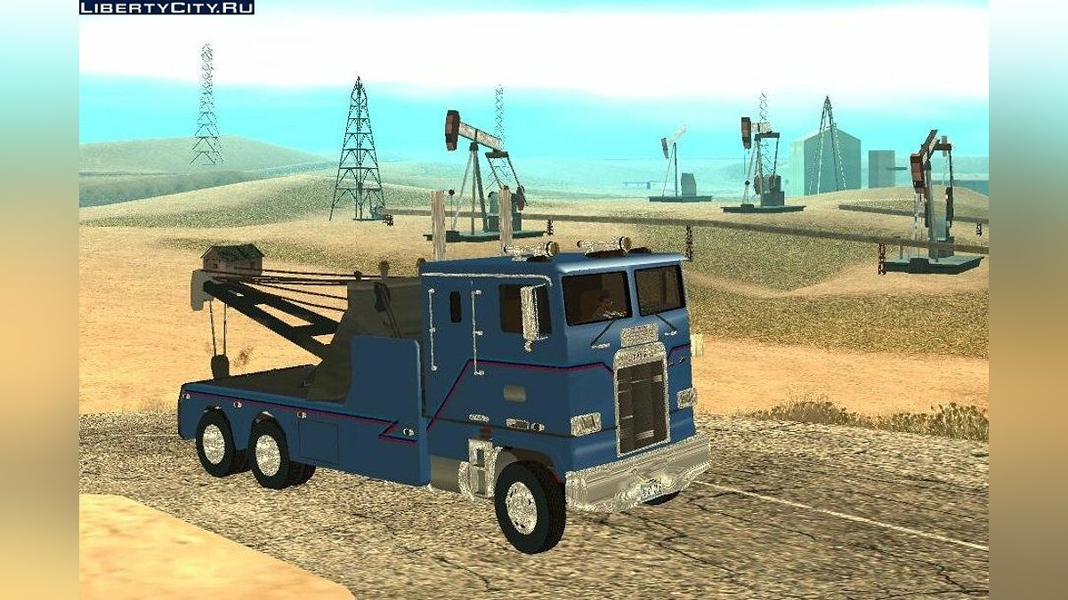 Kenworth K100 towtruck для GTA San Andreas