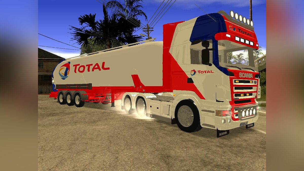 Scania Total and Trailer для GTA San Andreas