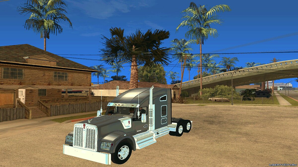 Грузовик Kenworth W990 STUDIO SLEEPER для GTA San Andreas