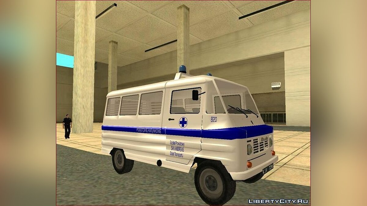 Zuk A-1805 Transport Ambulance для GTA San Andreas