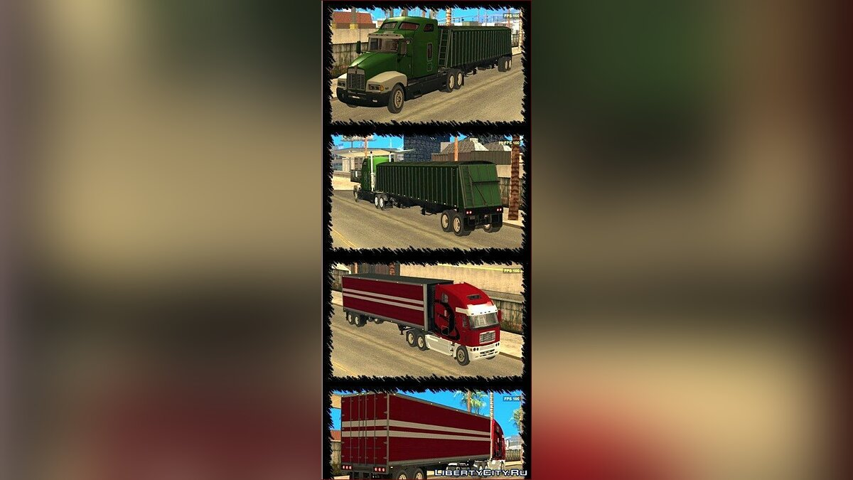 Truck and Trailer Pack для GTA San Andreas
