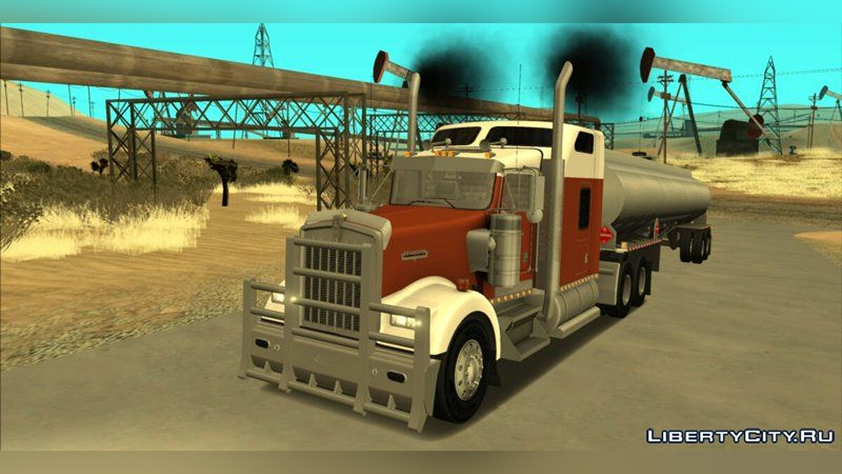 Kenworth W900 & Trailer Pack для GTA San Andreas
