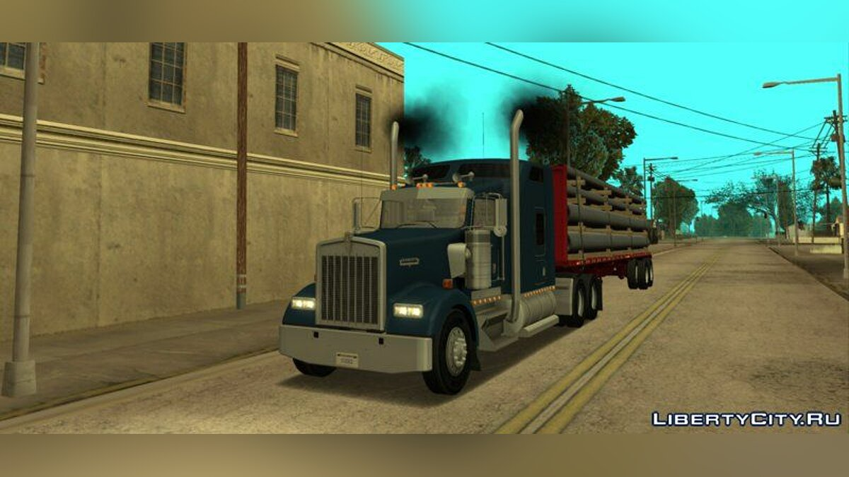 Kenworth W900 & Trailer Pack для GTA San Andreas - скриншот #2