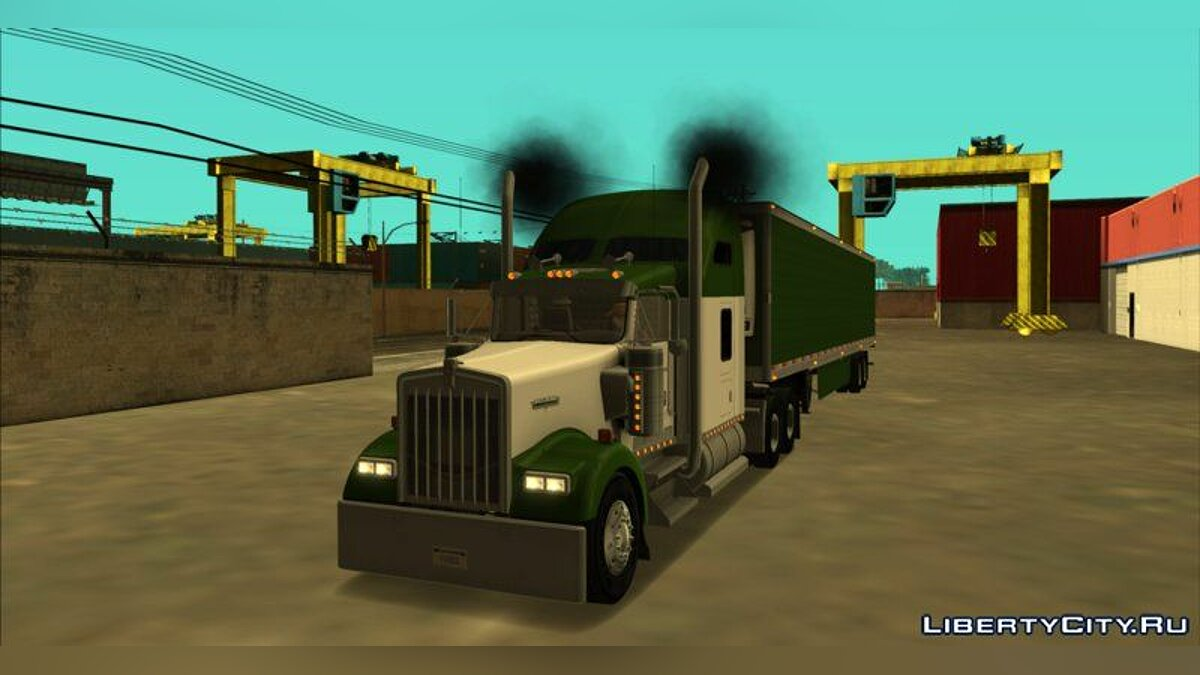Kenworth W900 & Trailer Pack для GTA San Andreas - скриншот #3