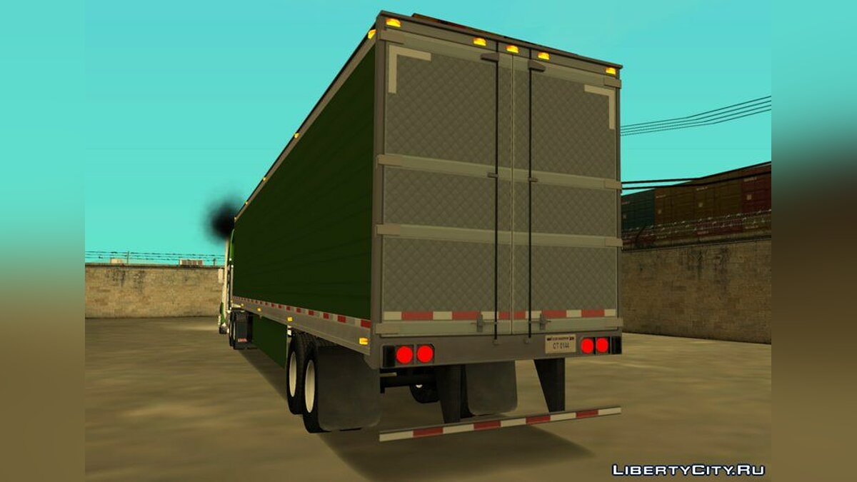 Kenworth W900 & Trailer Pack для GTA San Andreas - скриншот #4