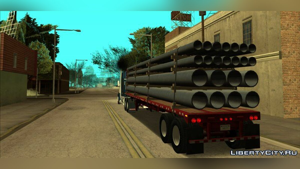 Kenworth W900 & Trailer Pack для GTA San Andreas - скриншот #6