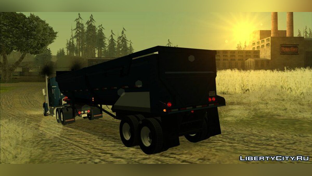Kenworth W900 & Trailer Pack для GTA San Andreas - скриншот #7