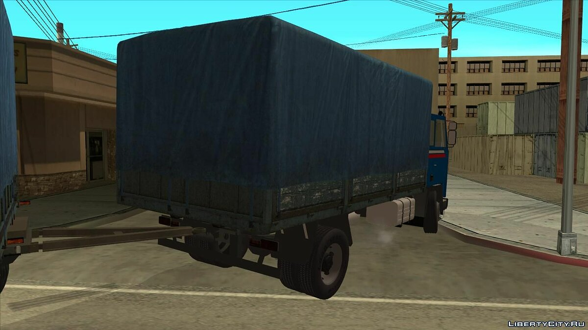 Jelcz 415 with a trailer Autosan для GTA San Andreas - скриншот #3