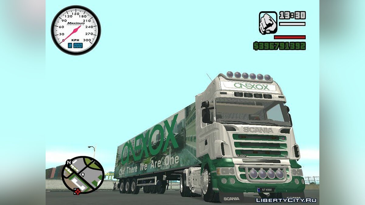 Scania R620 & ONEXOX Trailer для GTA San Andreas