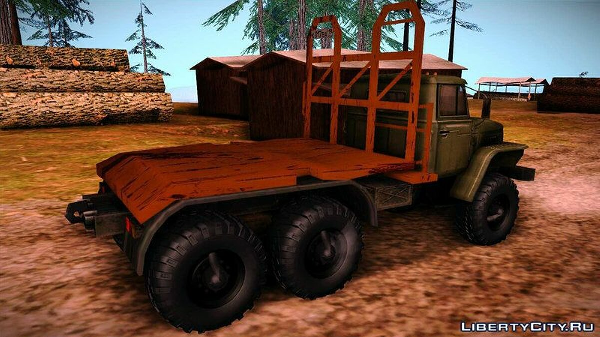 Машина Урал Урал 4420 Timber Carrying Vessel для GTA San Andreas