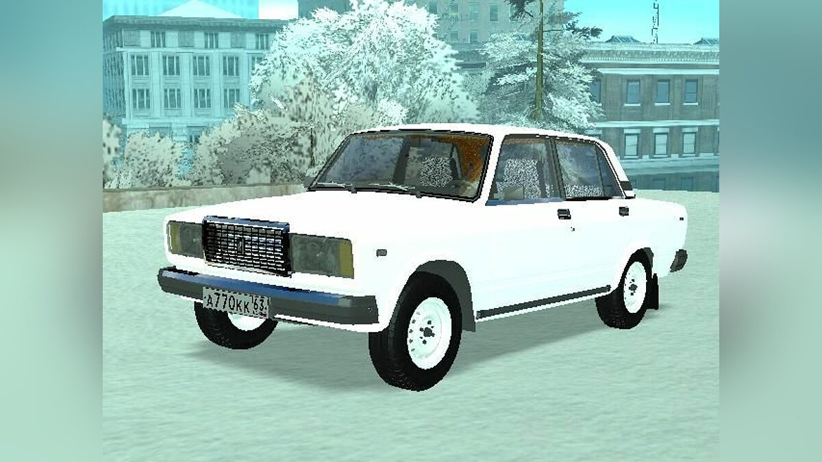 Lada 2107 light tunning для GTA San Andreas