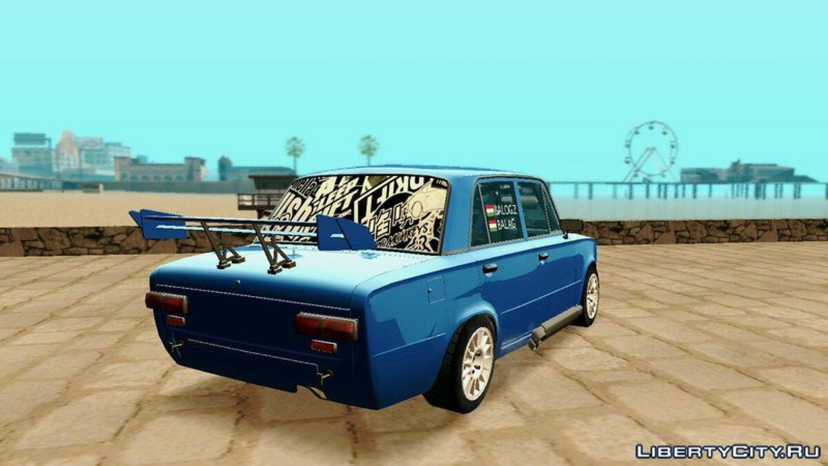 Машина ВАЗ Lada 2100 Sleep Drift для GTA San Andreas