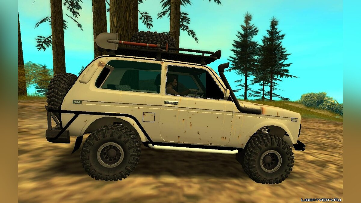 Машина ВАЗ Lada Niva 4x4 Off Road для GTA San Andreas