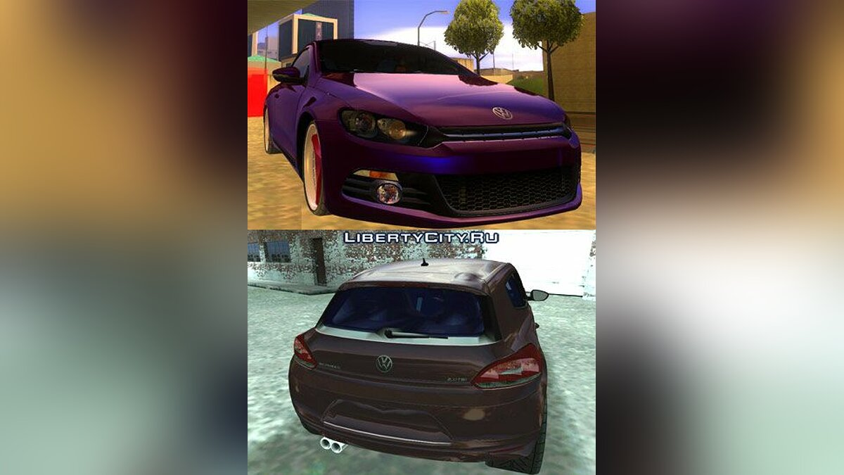 2009 VW Scirocco III Custom Edition для GTA San Andreas