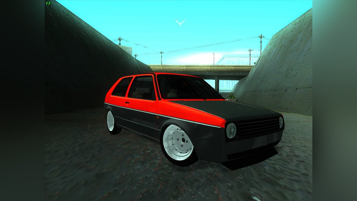 Volkswagen Golf II Freedom для GTA San Andreas