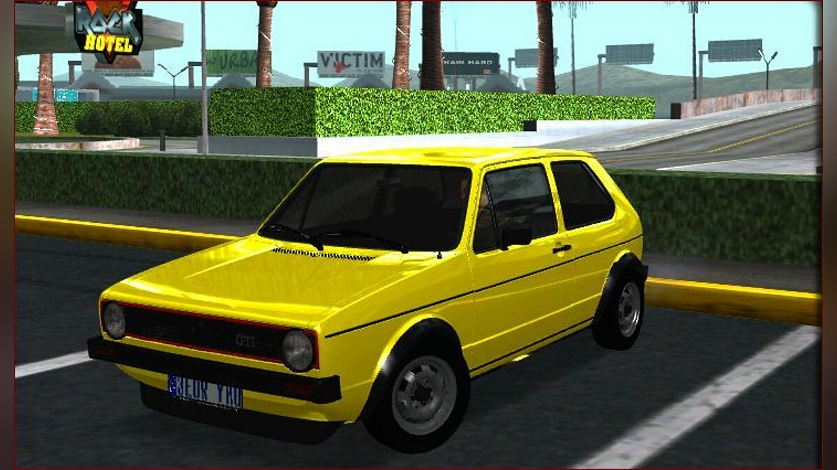 VW Golf Mk1 - Stock для GTA San Andreas