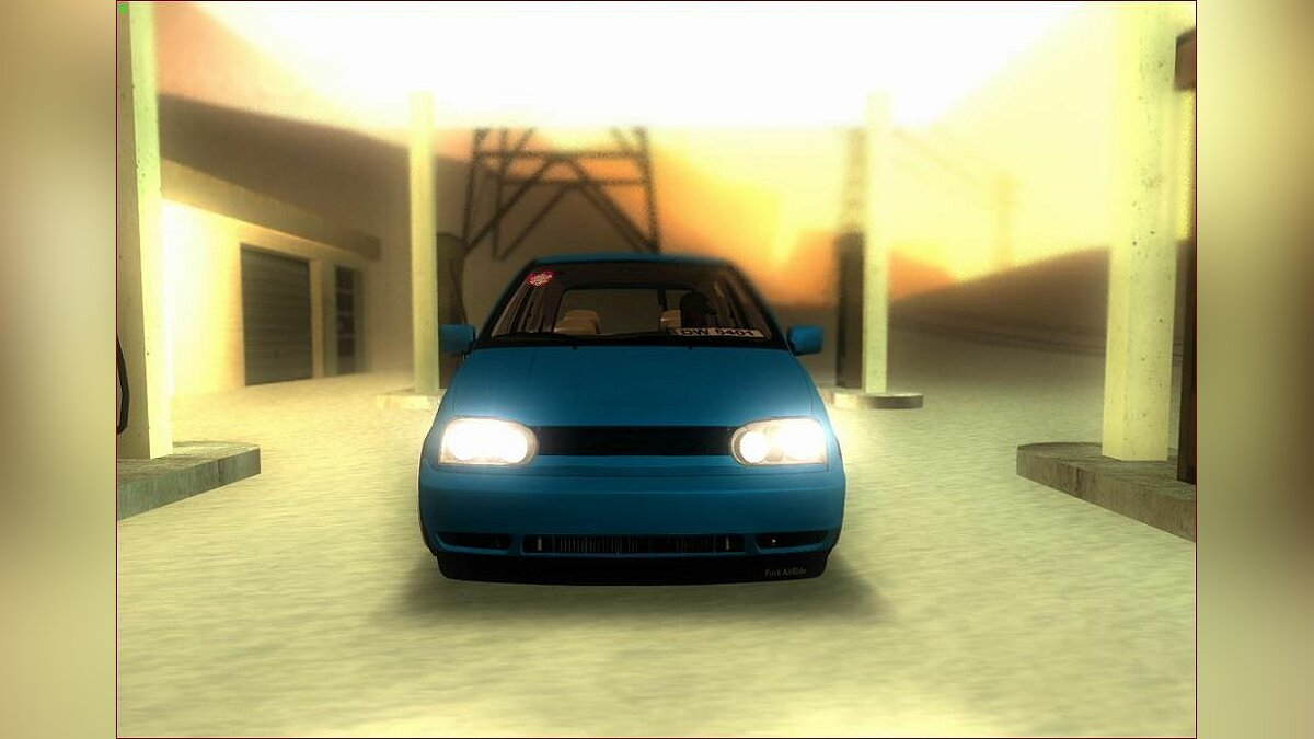 VW Golf MK3 German Style для GTA San Andreas