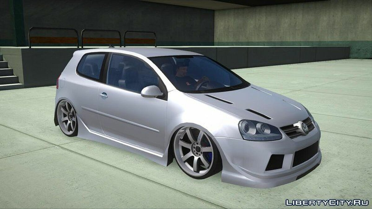 Машина Volkswagen VW Golf R32 для GTA San Andreas