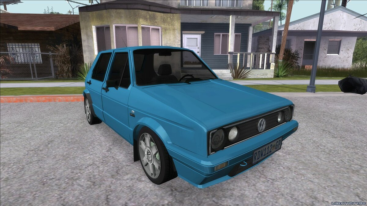Машина Volkswagen Volkswagen Golf VeloCiti 2008 Updated для GTA San Andreas