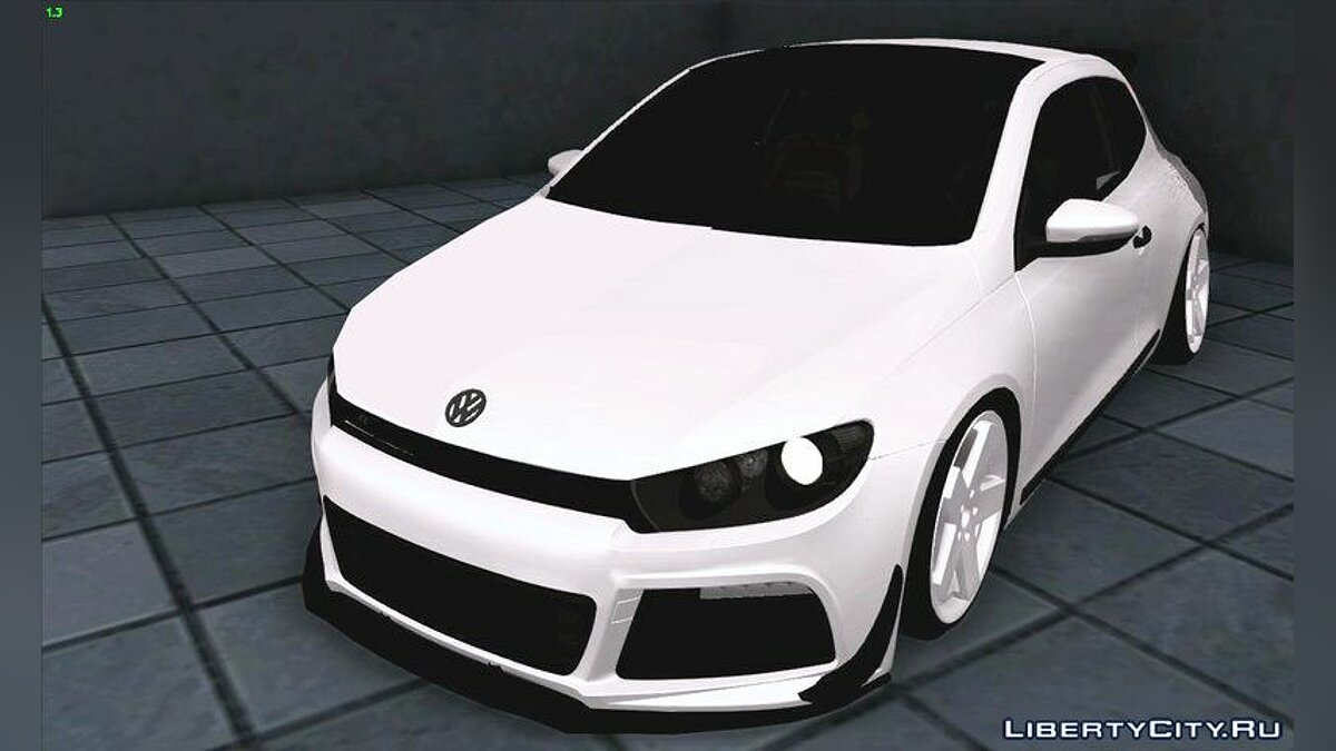 VW Scirocco Stance Works для GTA San Andreas