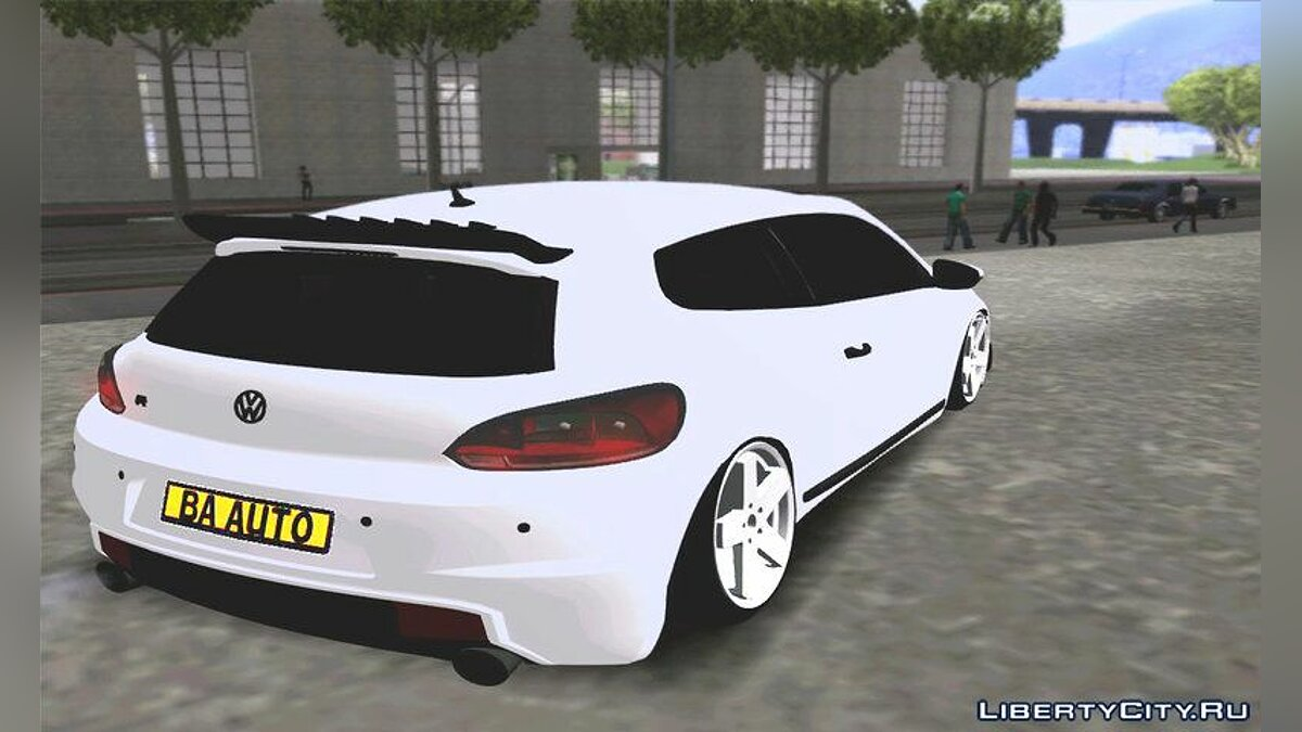 VW Scirocco Stance Works для GTA San Andreas - скриншот #2