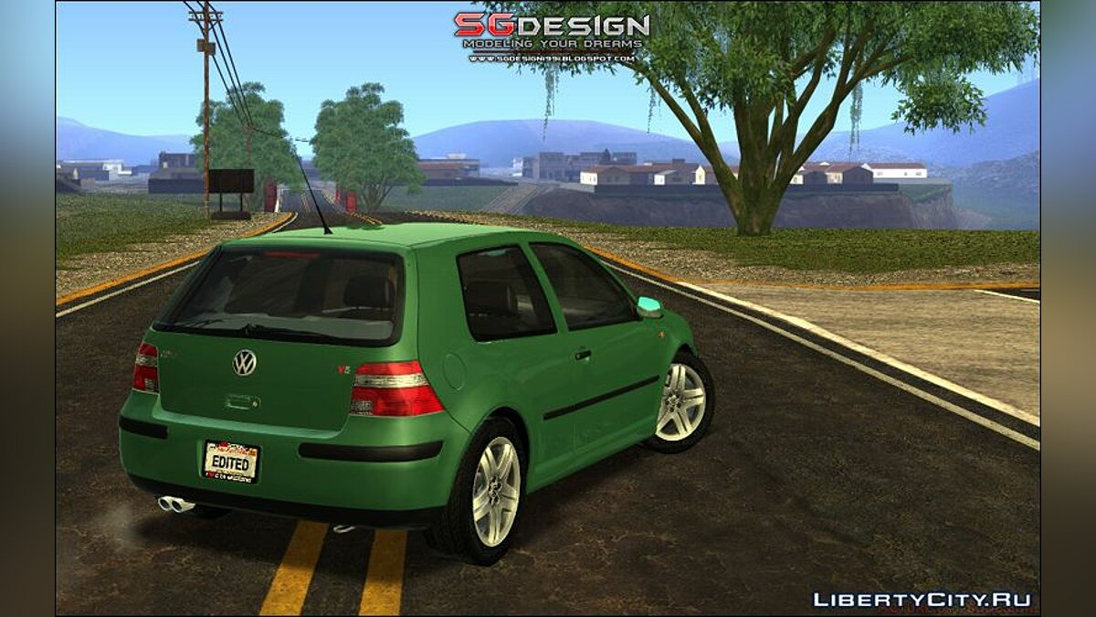 Машина Volkswagen VW GOLF V5 - Stock для GTA San Andreas