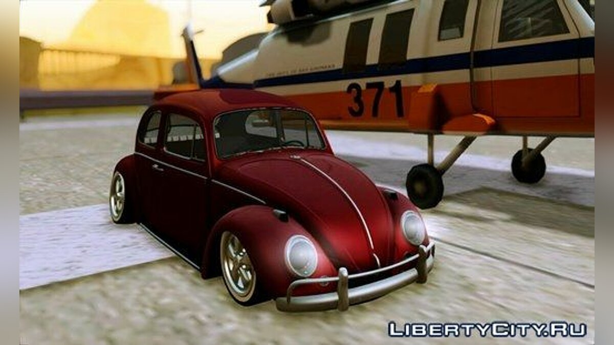 VosBeetle Aircooled для GTA San Andreas