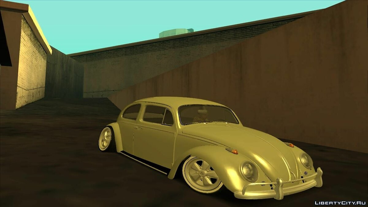 VosBeetle Aircooled для GTA San Andreas - скриншот #2