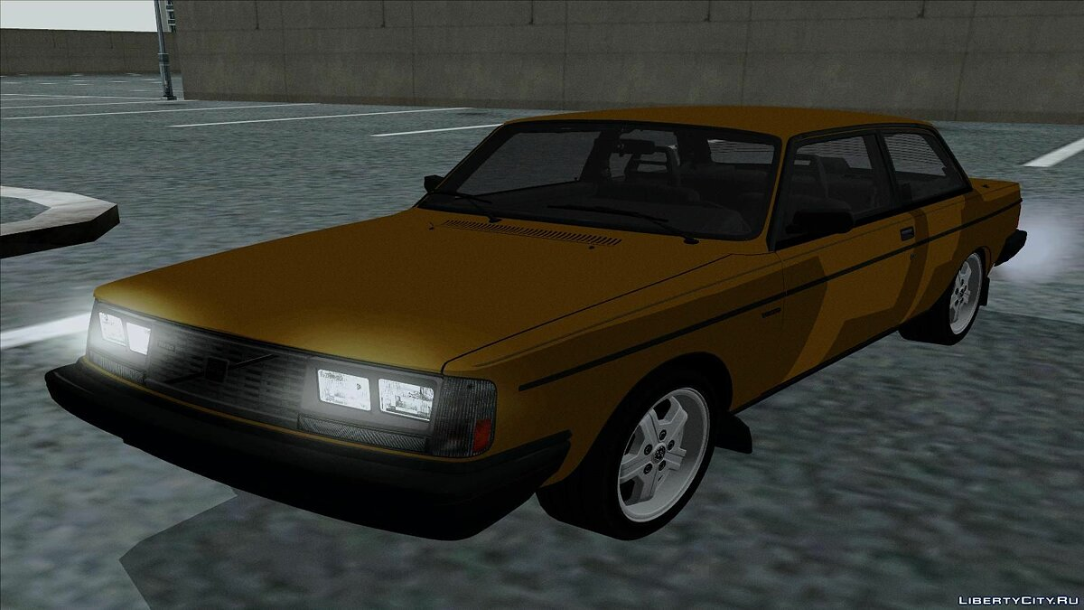 1983 Volvo 242 Turbo Evolution для GTA San Andreas