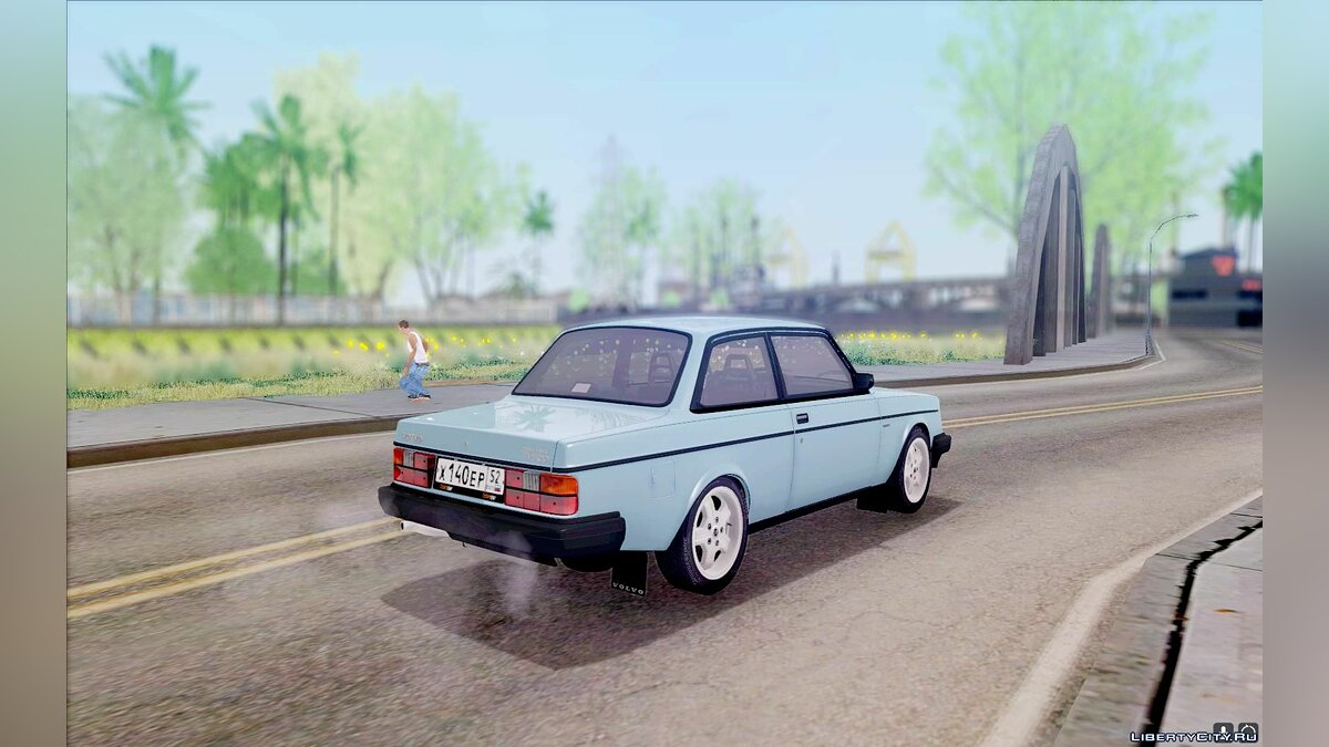 Volvo 242 InterCooler Turbo для GTA San Andreas - скриншот #3