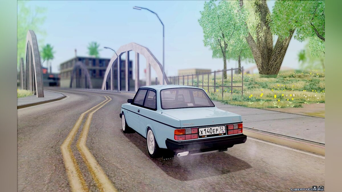 Volvo 242 InterCooler Turbo для GTA San Andreas - скриншот #6