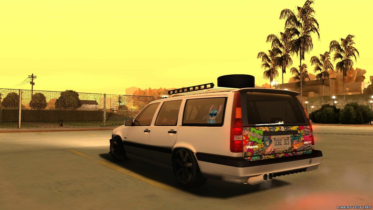 Volvo 850R 1997 Tunnable для GTA San Andreas - скриншот #3