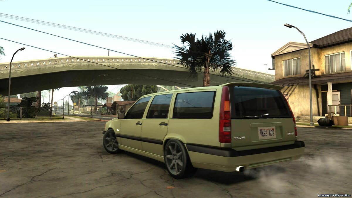 Volvo 850R 1997 Tunnable для GTA San Andreas - скриншот #4