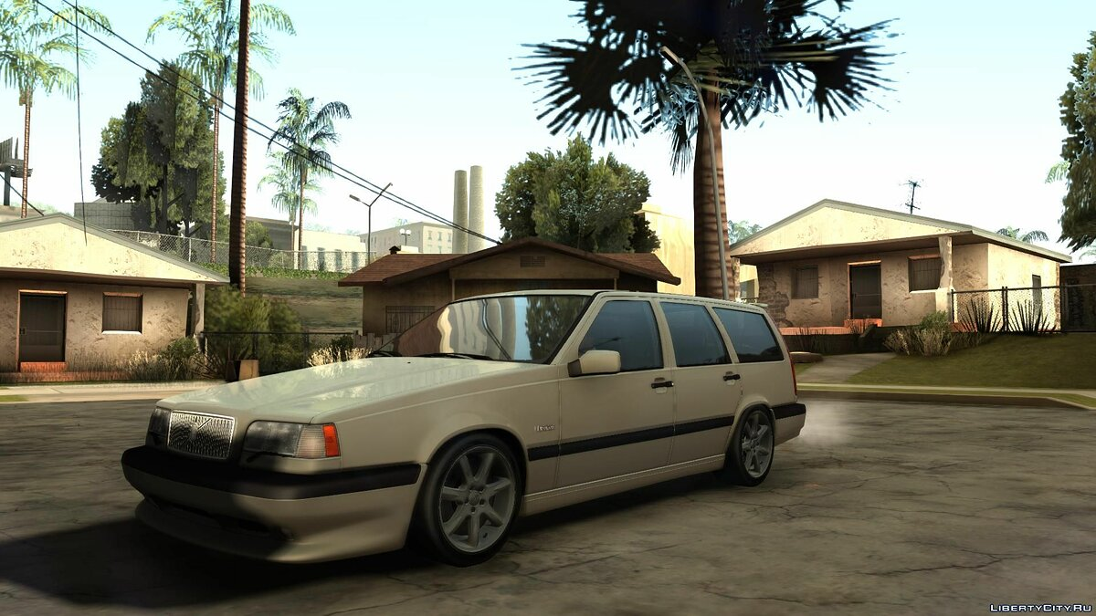 Volvo 850R 1997 Tunnable для GTA San Andreas - скриншот #2