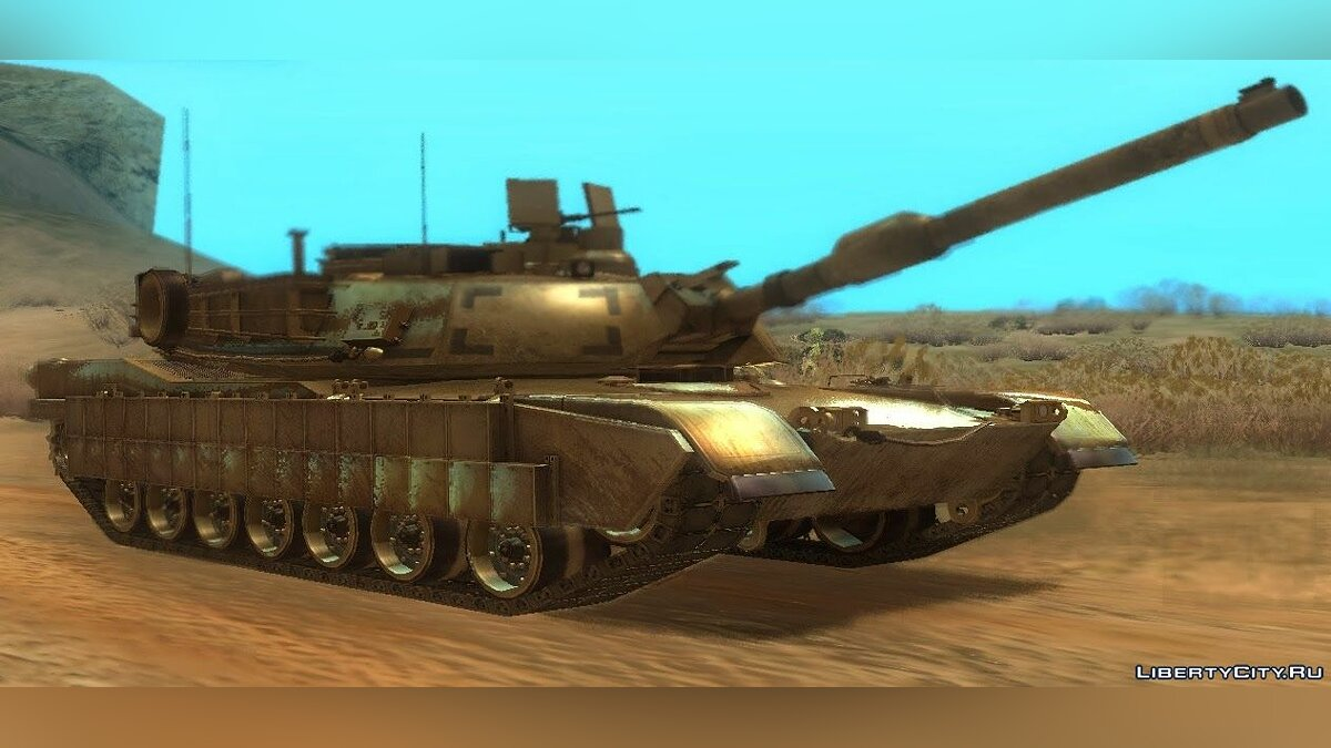 M1A2 Abrams from CoD: Ghosts для GTA San Andreas