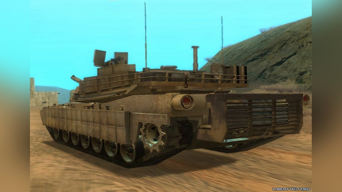 M1A2 Abrams from CoD: Ghosts для GTA San Andreas - скриншот #2