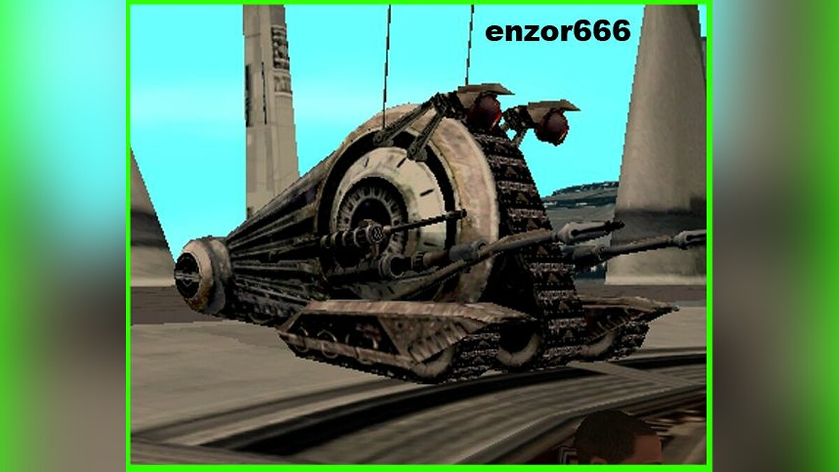 Alliance tank droid из игры Star Wars для GTA San Andreas